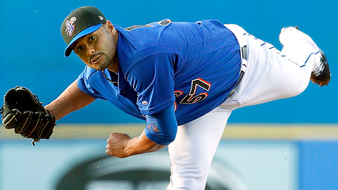 Johan Santana could have pitched in the playoffs but opted not to.