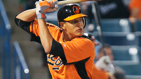Manny Machado played in 14 Grapefruit League games with the Orioles.