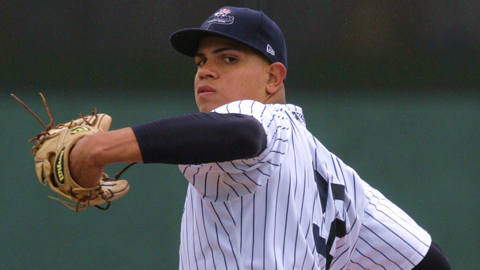 Dellin Betances has issued a league-leading 38 walks in nine starts.
