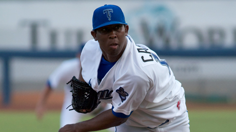 Edwar Cabrera has 68 strikeouts over 83 innings this year.