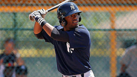 Angelo Gumbs is hitting .342 over his last 10 games.