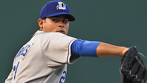Alex Torres is 2-3 with a 6.59 ERA in 17 appearances this season.