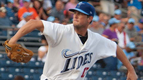 Brian Matusz threw a nine-inning shutout in his last start for Norfolk on Aug. 11, 2011.