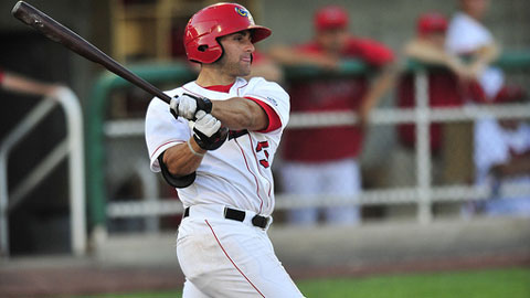 Wade Hinkle is hitting .333 with six homers and a .475 on-base percentage.